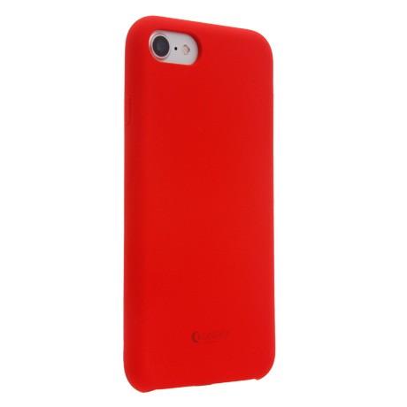 Capac Protectie Spate Cellara Din Silicon Colectia Soft Pentru iPhone 7 - Rosu
