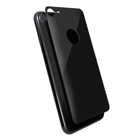 Folie Protectie Spate Din Sticla 3D Cellara Pentru iPhone 7/8 - Negru