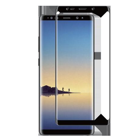 Folie Protectie Ecran Sticla 3D Full Cover Cellara Pentru Samsung Galaxy Note 8 - Negru