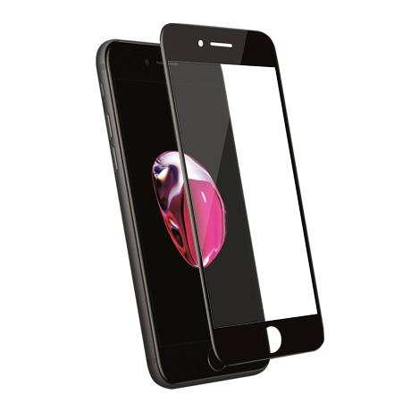 Folie Protectie Ecran Sticla 3D Cellara Pentru iPhone 7 Plus/8 Plus- Neagra
