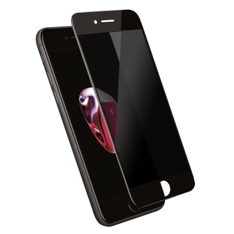 Folie Protectie Ecran Sticla 3D Privacy Cellara Pentru iPhone 7/8 - Negru
