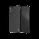 Capac Protectie Spate Bmw Carbon Fibre Pentru iPhone Xr - Negru