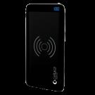 Baterie Externa Cellara Cu Incarcare Wireless Colectia Pulse Capacitate 10000 Mah -Neagra