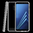 Capac Protectie Spate Cellara Colectia Crystal Pentru Samsung Galaxy A8 - Transparent