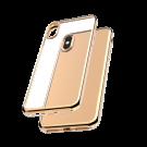 Capac Protectie Spate Cellara Colectia Electro Pentru iPhone Xs/iPhone X - Auriu