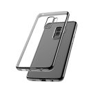Capac Protectie Spate Cellara Colectia Electro Pentru Samsung Galaxy S9 Plus - Negru