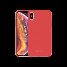Capac Protectie Spate Cellara Din Silicon Colectia Soft Pentru iPhone Xs Max - Rosu