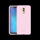 Capac Protectie Spate Cellara Din Silicon Colectia Soft Pentru Huawei Mate 20 Lite - Roz