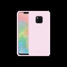 Capac Protectie Spate Cellara Din Silicon Colectia Soft Pentru Huawei Mate 20 Pro - Roz