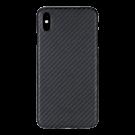 Capac Protectie Spate Cellara Din Fibra De Aramid Pentru iPhone Xs - Negru