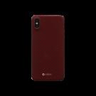 Capac Protectie Spate Cellara Din Fibra De Aramid Pentru iPhone Xs - Rosu
