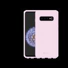 Capac Protectie Spate Cellara Din Silicon Colectia Soft Pentru Samsung Galaxy S10 Plus - Roz