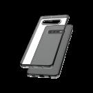 Capac Protectie Spate Cellara Colectia Electro Pentru Samsung Galaxy S10 Plus - Negru