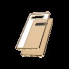 Capac Protectie Spate Cellara Colectia Electro Pentru Samsung Galaxy S10 Plus - Auriu
