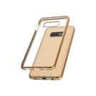 Capac Protectie Spate Cellara Colectia Electro Pentru Samsung Galaxy S10E - Auriu