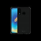 Capac Protectie Spate Cellara Din Silicon Colectia Soft Pentru Huawei P30 Lite - Negru