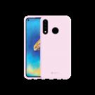 Capac Protectie Spate Cellara Din Silicon Colectia Soft Pentru Huawei P30 Lite - Roz