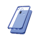 Capac Protectie Spate Cellara Colectia Electro Pentru Samsung Galaxy A20e - Albastru