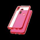 Capac Protectie Spate Cellara Colectia Electro Pentru Samsung Galaxy A20e - Rosu
