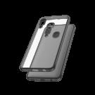 Capac Protectie Spate Cellara Colectia Electro Pentru Samsung Galaxy A40 - Negru