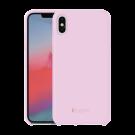 Capac Protectie Spate Cellara Din Silicon Colectia Soft Pentru iPhone Xs Max - Roz