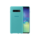 Capac Protectie Spate Samsung Din Silicon Pentru Samsung Galaxy S10 Plus - Verde