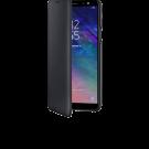 Book Wallet Samsung Pentru Samsung Galaxy A6 2018 - Negru
