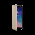 Book Wallet Samsung Pentru Samsung Galaxy A6 2018 - Auriu