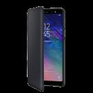 Book Wallet Samsung Pentru Samsung Galaxy A6 Plus 2018 - Negru