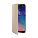 Book Wallet Samsung Pentru Samsung Galaxy A6 Plus 2018 - Auriu
