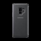 Book Clear View Standing Cover Samsung Pentru Samsung Galaxy S9 - Negru