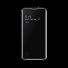 Book Clear View Standing Cover Samsung Pentru Samsung Galaxy S10e - Negru