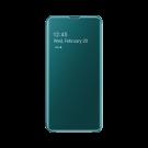 Book Clear View Standing Cover Samsung Pentru Samsung Galaxy S10e - Verde