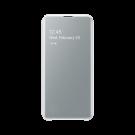 Book Clear View Standing Cover Samsung Pentru Samsung Galaxy S10e - Alb