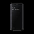 Book Clear View Standing Cover Samsung Pentru Samsung Galaxy S10 Plus - Negru