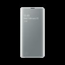 Book Clear View Standing Cover Samsung Pentru Samsung Galaxy S10 Plus - Alb