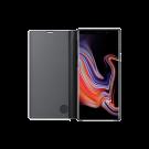 Book Clear View Standing Cover Samsung Pentru Samsung Galaxy Note 9 - Negru