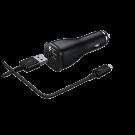 Incarcator Auto Samsung 2A Cablu Detasabil Type C - Negru