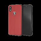 Capac Protectie Spate Ferrari Pentru iPhone Xr Colectia Heritage - Rosu