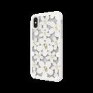 Capac Protectie Spate Switcheasy Pentru iPhone Xs Max Colectia Flori 3D - Alb