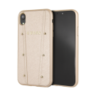 Capac Protectie Spate Guess Pentru iPhone Xr Colectia Kaia - Auriu