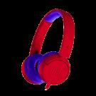 Casti Audio Jbl Pentru Copii Cu Mufa Jack 3.5 Mm - Rosu Albastru
