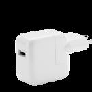 Incarcator Retea Apple 12W Cu Slot Usb - Alb