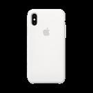 Capac Protectie Spate Apple Din Silicon Pentru Iphone Xs - Alb