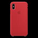 Capac Protectie Spate Apple Din Silicon Pentru iPhone Xs - Rosu
