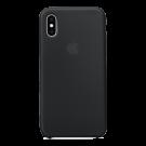 Capac Protectie Spate Apple Din Silicon Pentru iPhone Xs Max - Negru