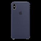 Capac Protectie Spate Apple Din Silicon Pentru Iphone Xs Max - Albastru