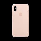 Capac Protectie Spate Apple Din Silicon Pentru iPhone Xs - Roz