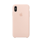 Capac Protectie Spate Apple Din Silicon Pentru iPhone Xs Max - Roz