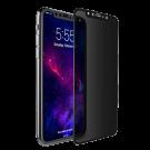 Folie Protectie Ecran Sticla 3D Privacy Cellara Pentru iPhone X - Negru